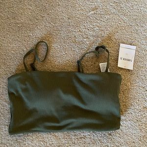NWT forever 21 olive crop